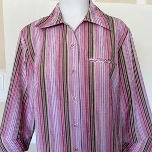 Allison Daley Stripes Blouse